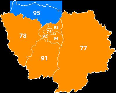 Val d'Oise (95)